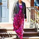 Chrissy Teigen Pink Floral Dress