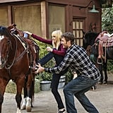 Chris Pratt and Anna Faris on Mom Pictures