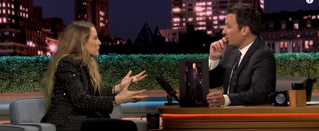 "Blake Lively Talks About ""Tweets"" Mistake on Jimmy Fallon"