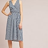 Anthropologie Grecca Gingham Midi Dress