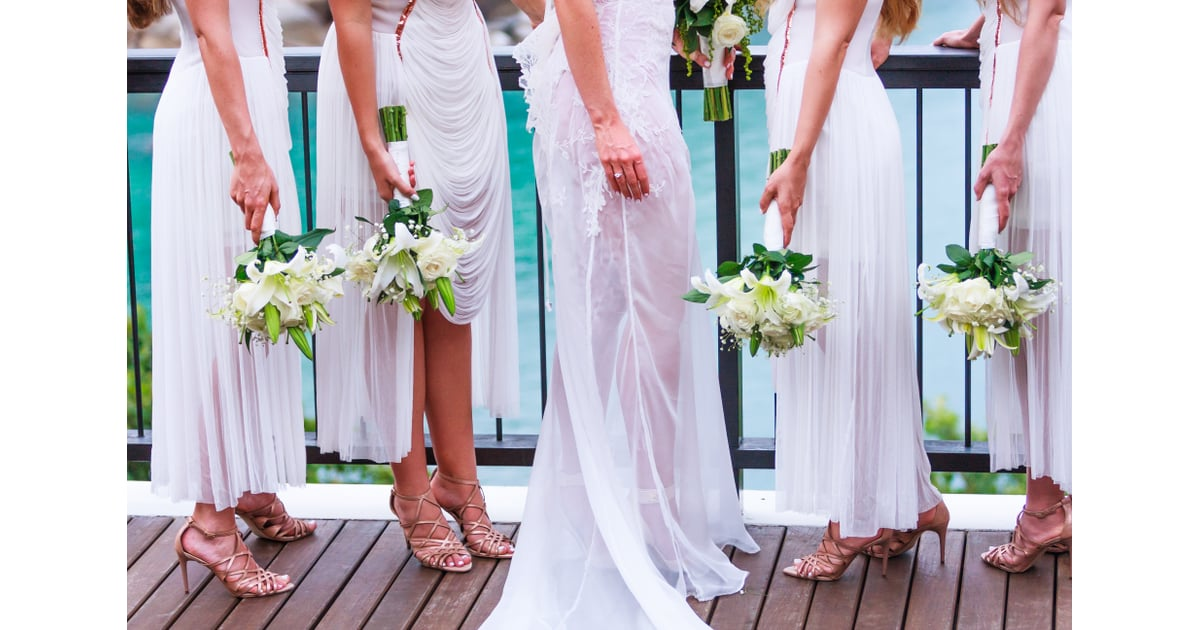 Choose white dresses for your bridesmaids — they're not ...