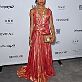 Indya Moore at The Daily Front Row Fashion Media Awards During New York Fashion Week