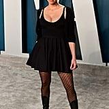 Sarah Silverman at the Vanity Fair Oscars Afterparty 2020