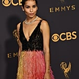 Zoë Kravitz at the Emmy Awards