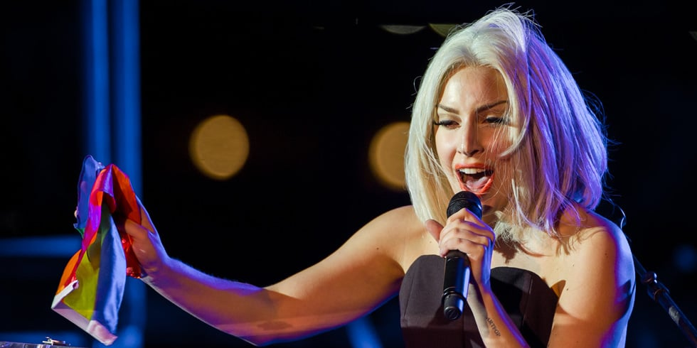 Lady Gaga's First Public Appearance Since Surgery; Gay Pride