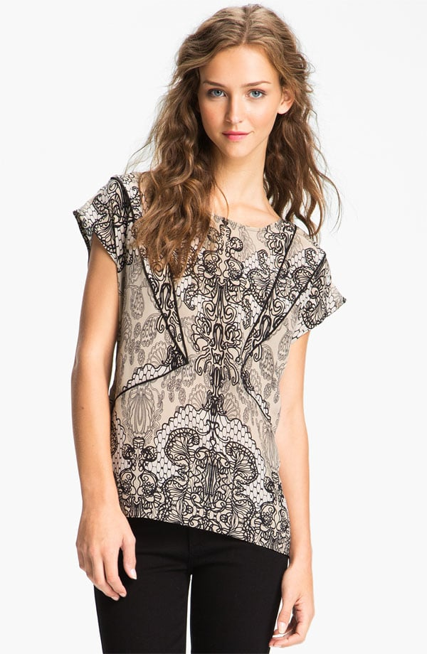 We love the idea of playing with the illusion of lace, and that's why this Willow & Clay lace-print top ($98) caught our eye. You can wear it to work with pants and on the weekends with jeans or leggings.