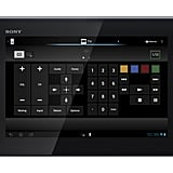 Sony Xperia Tablet S's universal remote control feature.