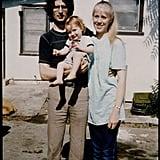 David Koresh With Wife Rachel and Son Cyrus