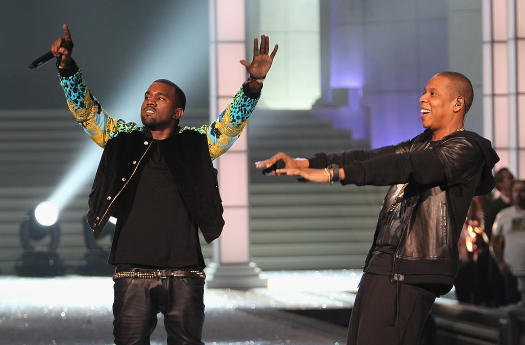 Kanye West and Jay-Z performed at the 2011 show.