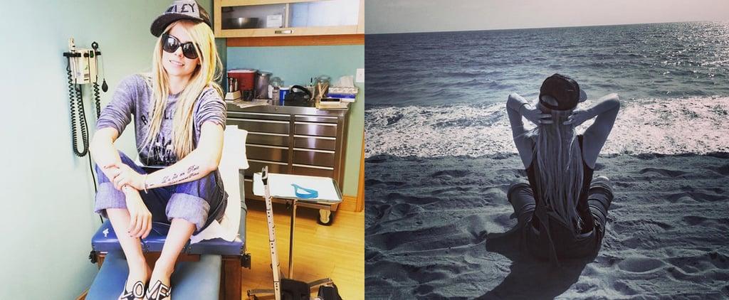 Avril Lavigne Posts About Lyme Disease September 2015