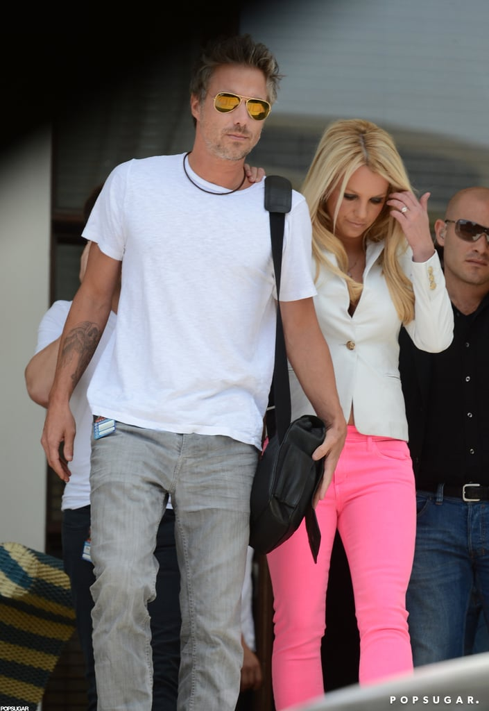 Britney Spears in Miami For X Factor