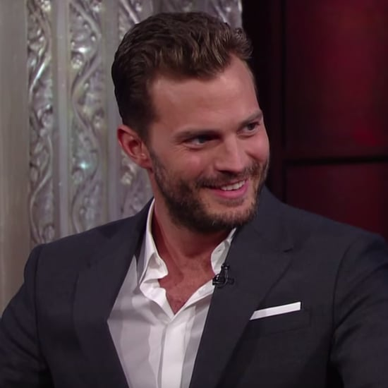 Jamie Dornan on The Late Show August 2016