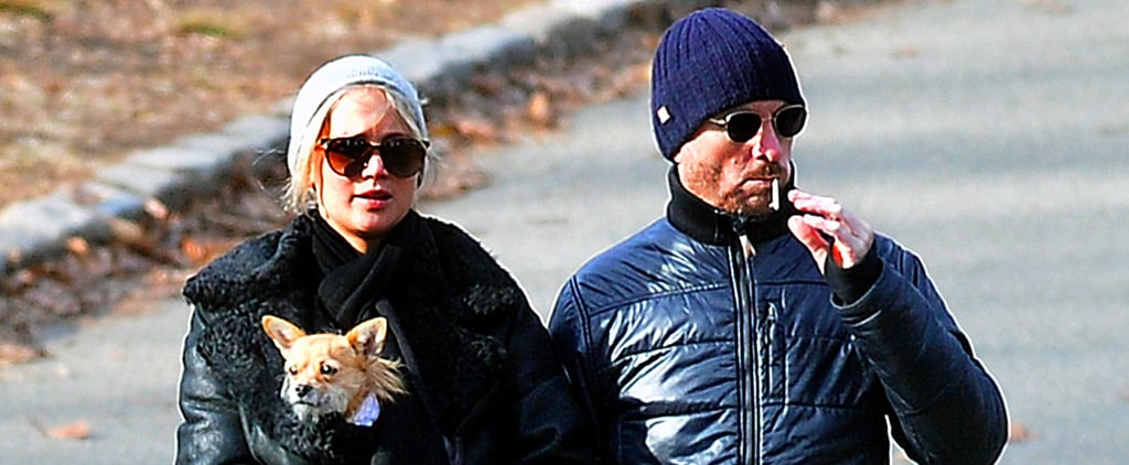 Jennifer Lawrence and Darren Aronofsky Emerge For a Rare Joint Outing in NYC