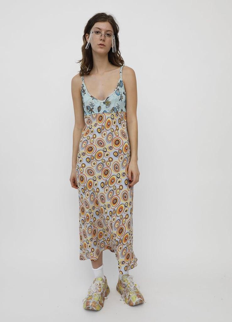 Collina Strada Comfort Slip Retro Circles Dress