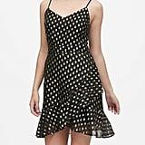 Metallic Dot Mini Dress