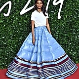 Liya Kebede at the British Fashion Awards 2019