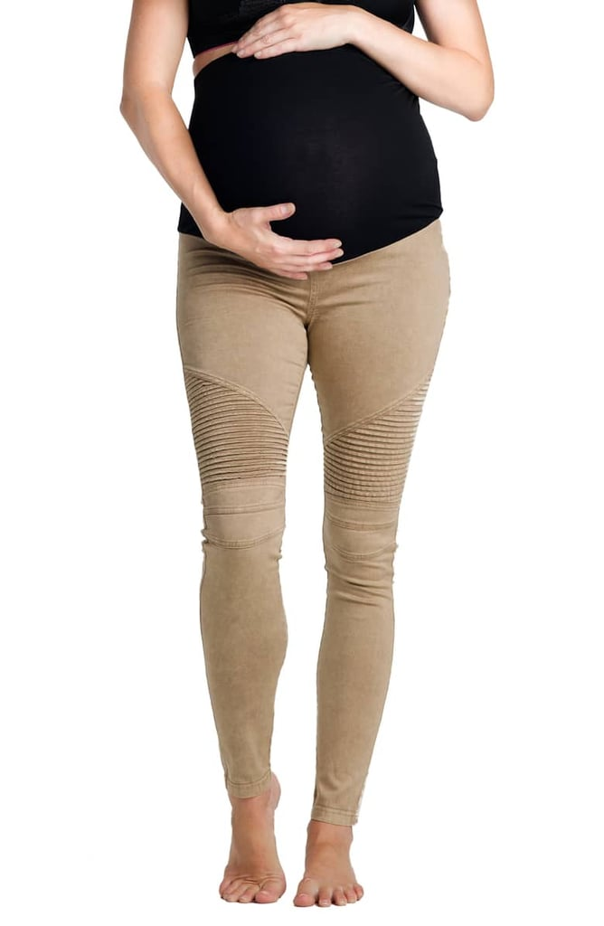 Preggo Leggings Moto Maternity Leggings