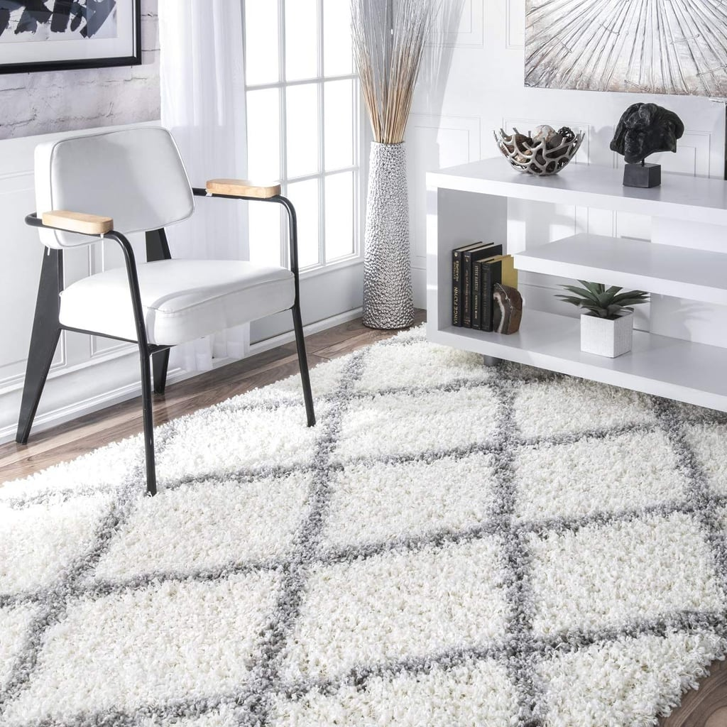 Nuloom Cozy Diamond Trellis Square Area Rug