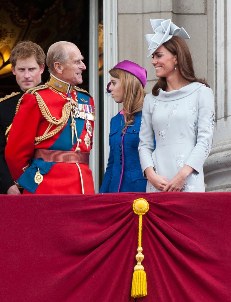 Kate Joins Will, Harry, and the Royal Family For Trooping the Colour