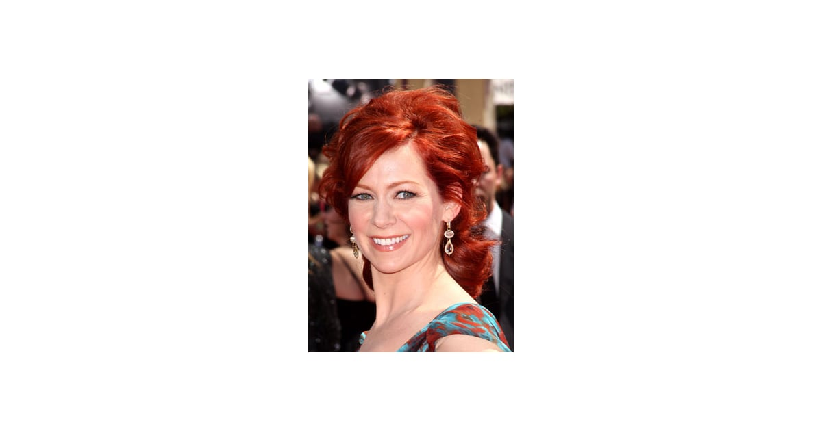 Carrie Preston At 2010 Emmy Awards Popsugar Beauty