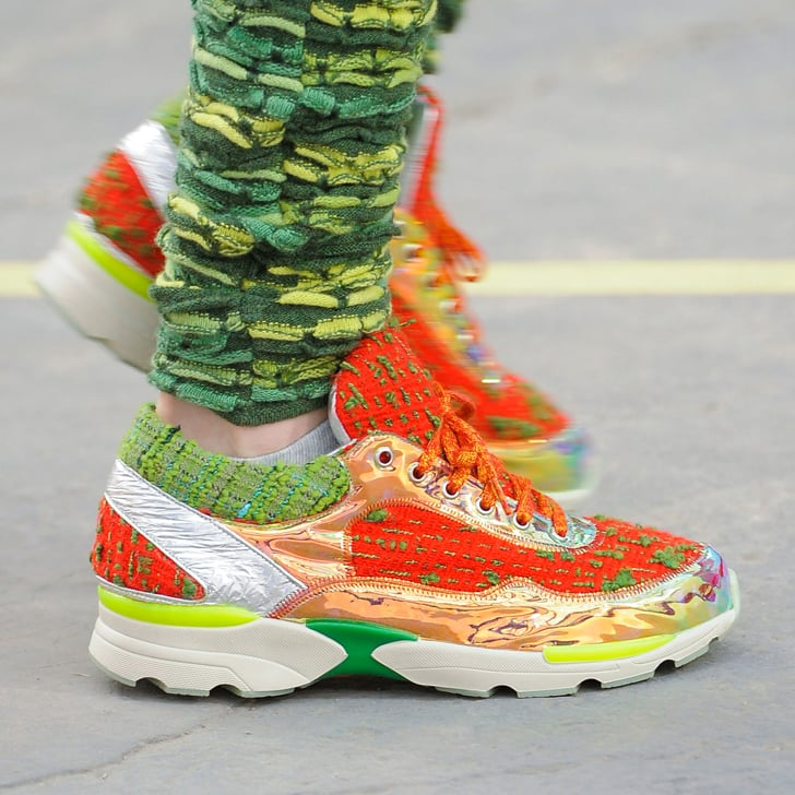 Chanel Says It's OK to Wear Trainers — Our Feet Rejoice