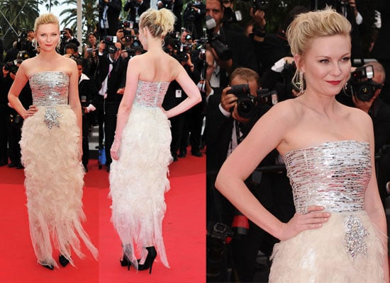 See Kirsten Dunst's Chane Haute Couture Frock at Cannes Closing Ceremoy From All The Angles!