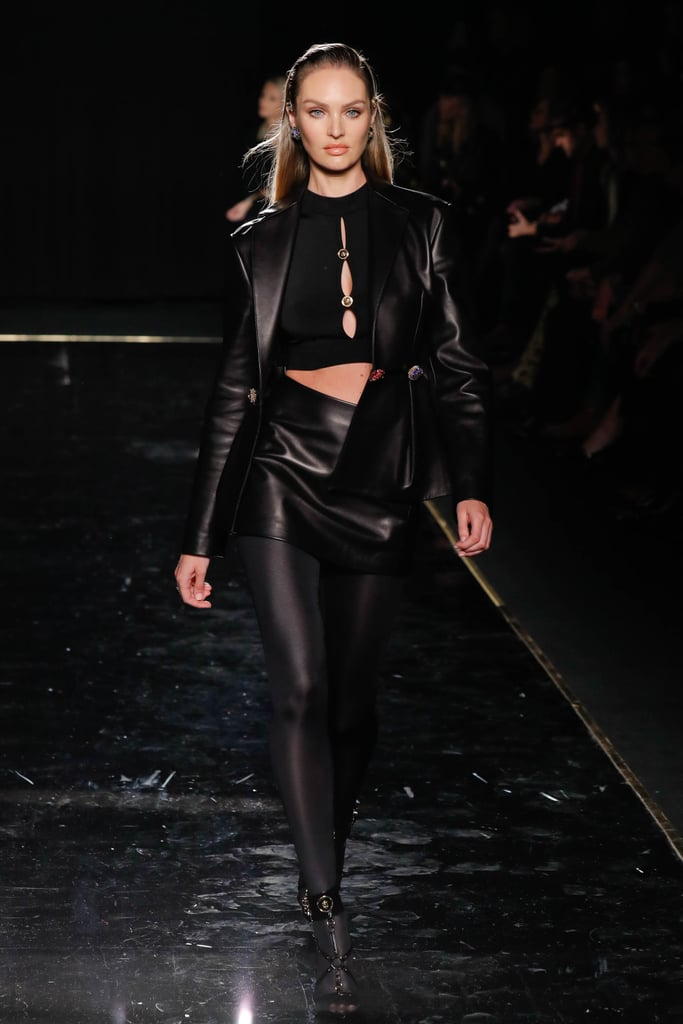 Candice Swanepoel Wowed in All Black