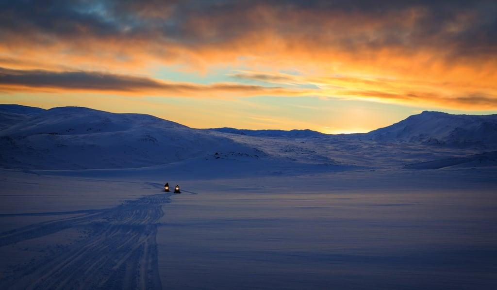 Embark on an Overnight Snowmobile Adventure
