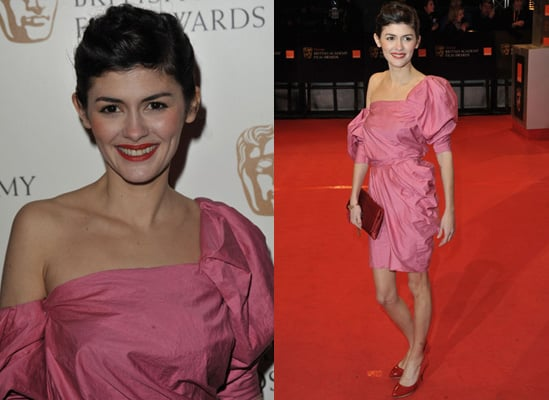 Photos of Audrey Tautou at the 2010 BAFTA Awards