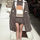 And Donned a Cozy Set in Fendi