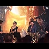 Beauty and the Beast Press Event