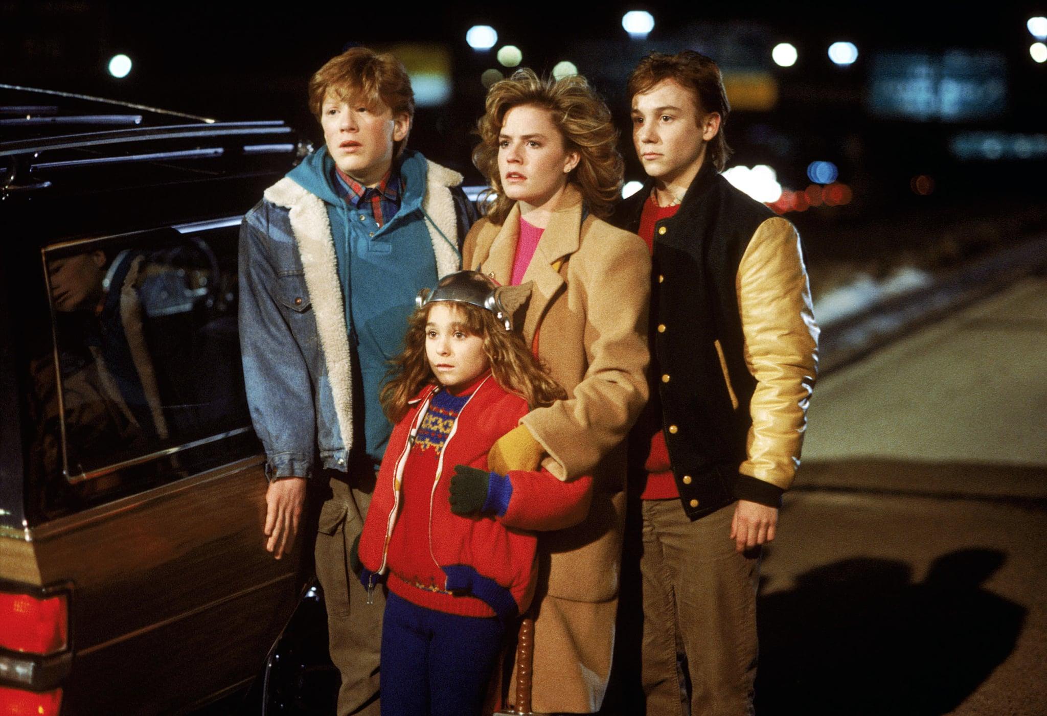 ADVENTURES IN BABYSITTING, Anthony Rapp, Maia Brewton, Elisabeth Shue, Keith Coogan, 1987, (c) Buena Vista/courtesy Everett Collection