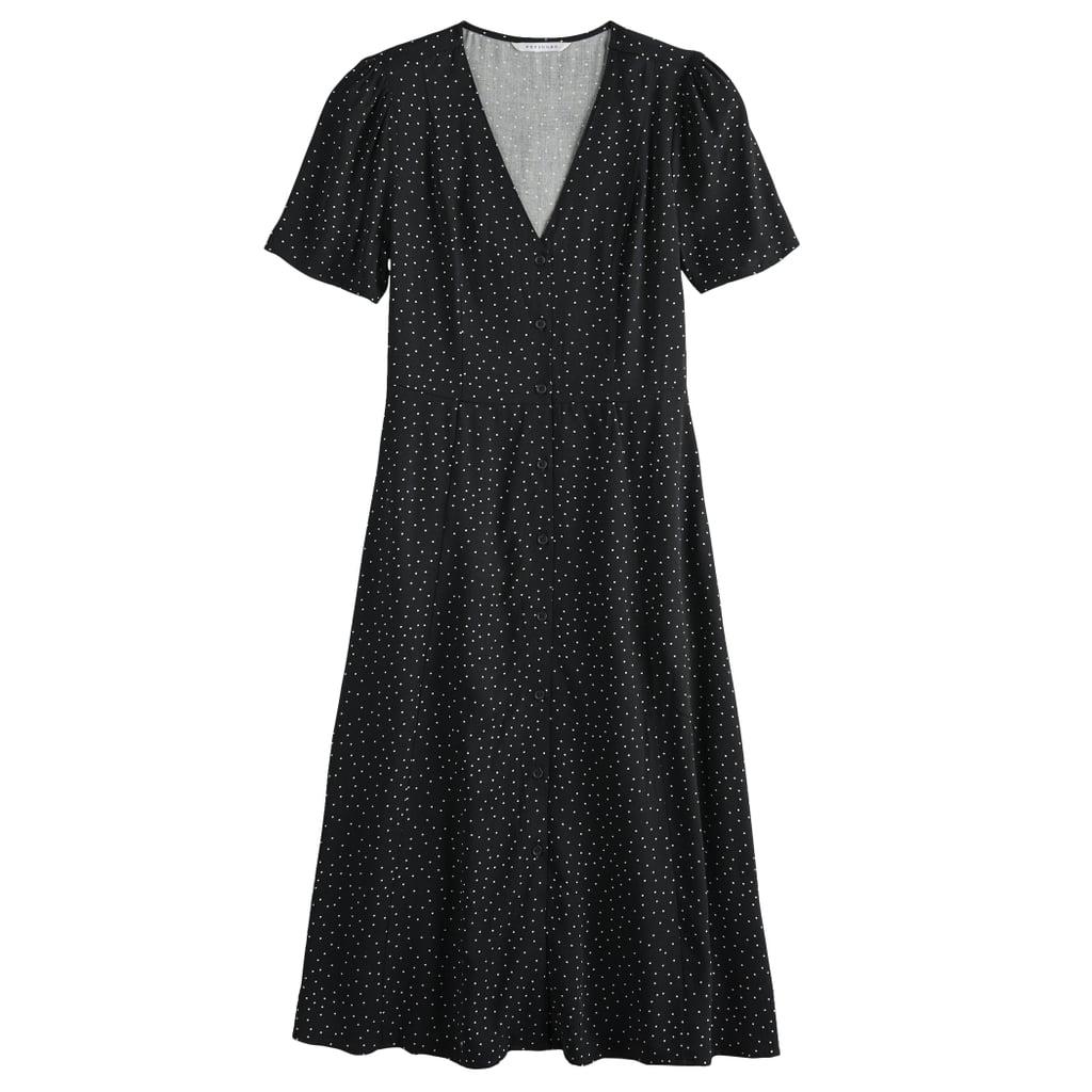 Affordable Fall Fashion Favorite: POPSUGAR Button-Up Midi Dress