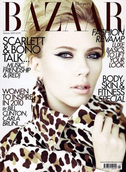 Scarlett Johansson does Harper's Bazaar UK-january 2010