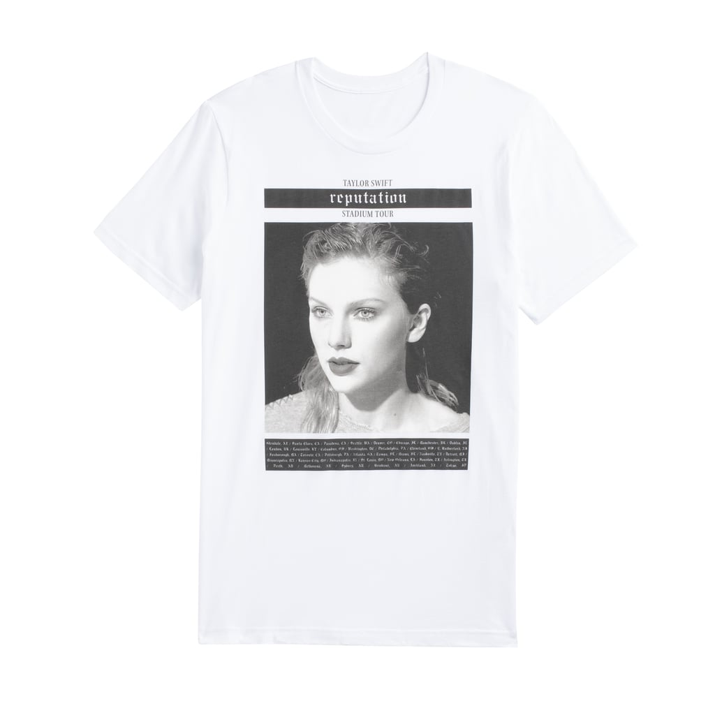 White Tour Tee With Photo