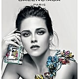 POPSUGAR: You've been the face of Balenciaga for a few seasons now. What draws you back to the house? Kristen Stewart: Following through with the telling of the whole story — the basis of where the perfume lives. Nicolas [Ghesquière] started with Florabotanica and the idea that that girl was traversing this dangerous but beautiful and exotic garden. And she was sort of extracting these scents and becoming herself. And it continued, and the story was just awesome and interesting. We always planned on following through with it. PS: What was it like shooting the new campaign? KS: It was fun and cool. The imagery that is on my body was physically there. The flowers were all handmade, perfectly formed paper flowers. It was cool to see those in person. PS: Explain the decision to go topless for it? KS: It was just about being simple. We had no intention of suggesting that I was completely naked. It was just about making it about the fragrance and the imagery. PS: How would you describe your beauty look in the ad? KS: It was taking something clean and making it slightly more mature and a little bit more daring. The first ad was really clean makeup and not much going on. In this one, it's a bit more forward. Photo courtesy of Balenciaga