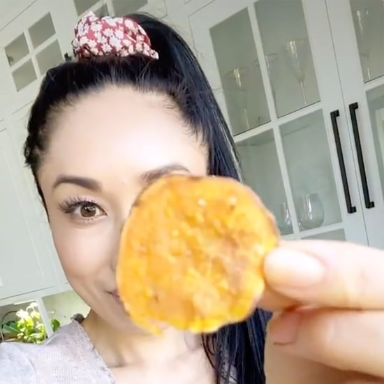 Healthy Sweet Potato Chip Recipe Using a Microwave