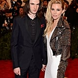 Sienna Miller and Tom Sturridge at the Met Gala 2013.