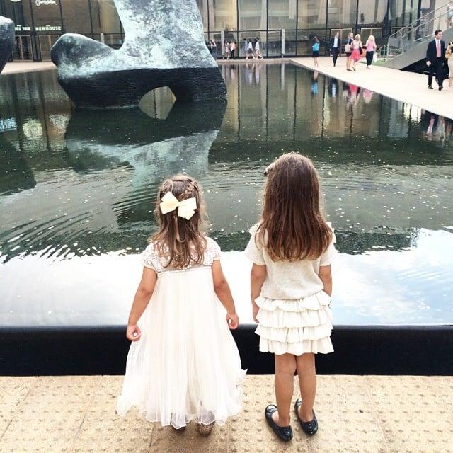 Arabella Kushner attended the ballet in Lincoln Center. Source: Instagram user ivankatrump