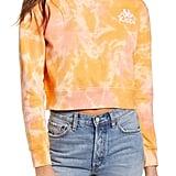 Kappa Catros Tie Dye Crop Sweatshirt