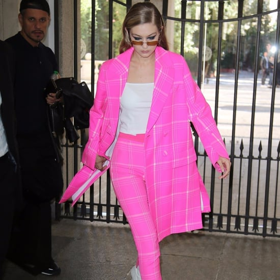 Gigi Hadid Pink Fendi Suit
