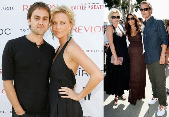 Photos of Charlize Theron, Stuart Townsend, and Matthew McConaughey at a Screening of Battle in Seattle