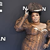 Lizzo's Wood Manicure at the 2019 BET Awards