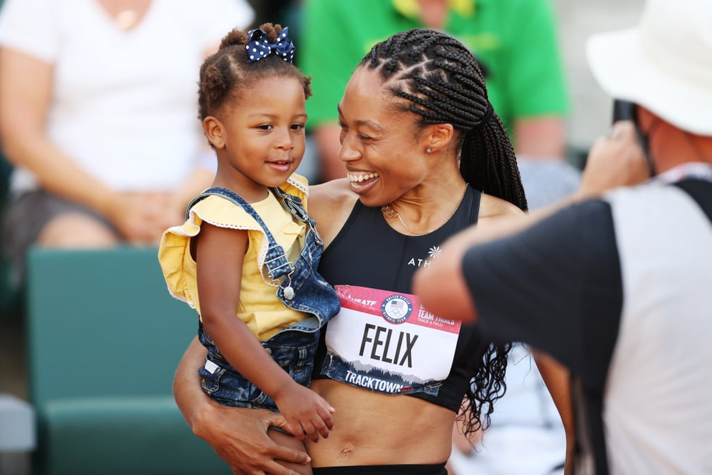 How Many Kids Does Allyson Felix Have?