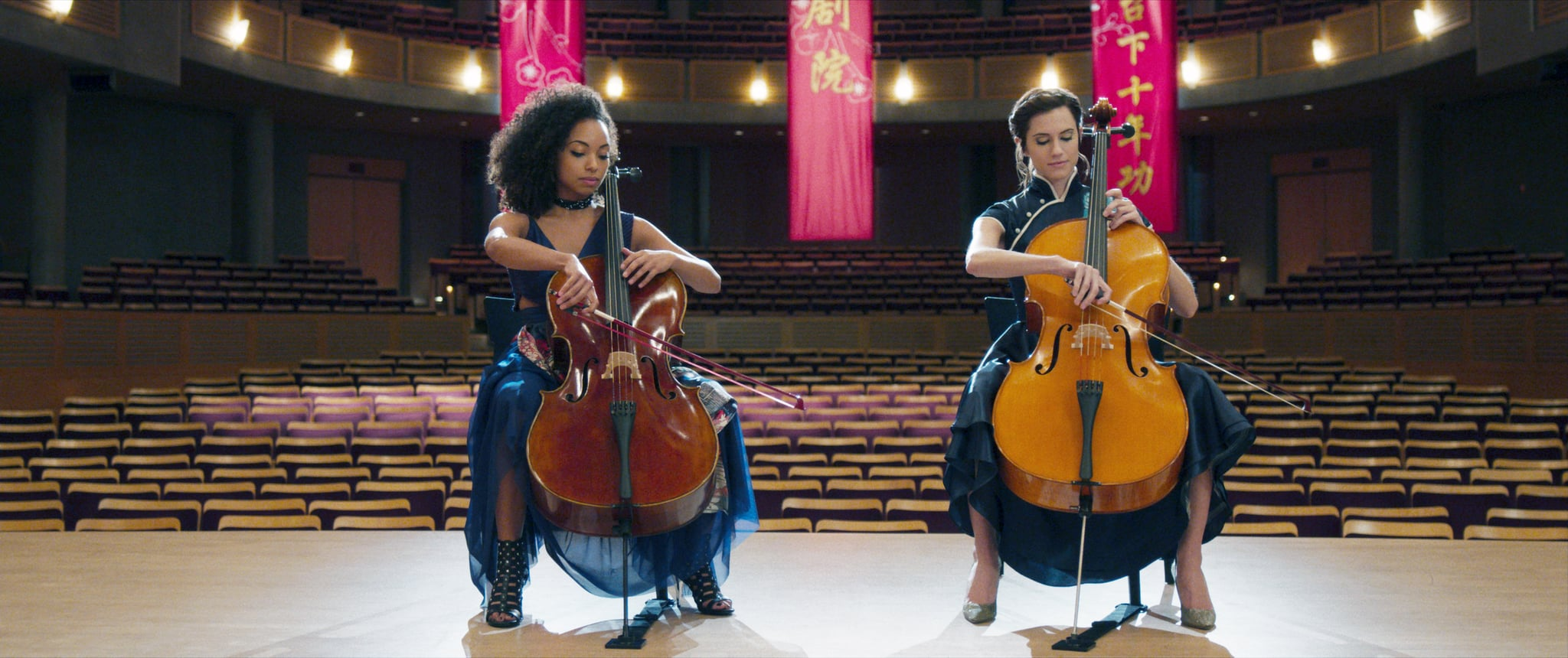 THE PERFECTION, from left:  Logan Browning, Allison Williams, 2019.  Netflix /courtesy Everett Collection
