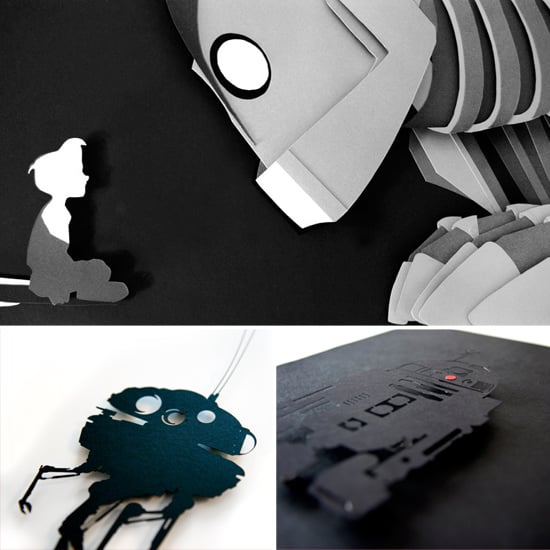 Geeky Paper Art on Etsy