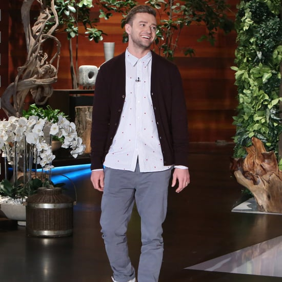 Justin Timberlake Plays 5 Second Rule on The Ellen Show 2016