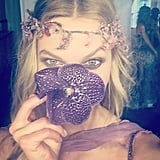Karlie's Look Was All About the Flower Power