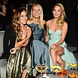 Gwyneth Paltrow linked up with Sarah Jessica Parker and Kate Hudson at Tiffany & Co.'s ball in NYC.