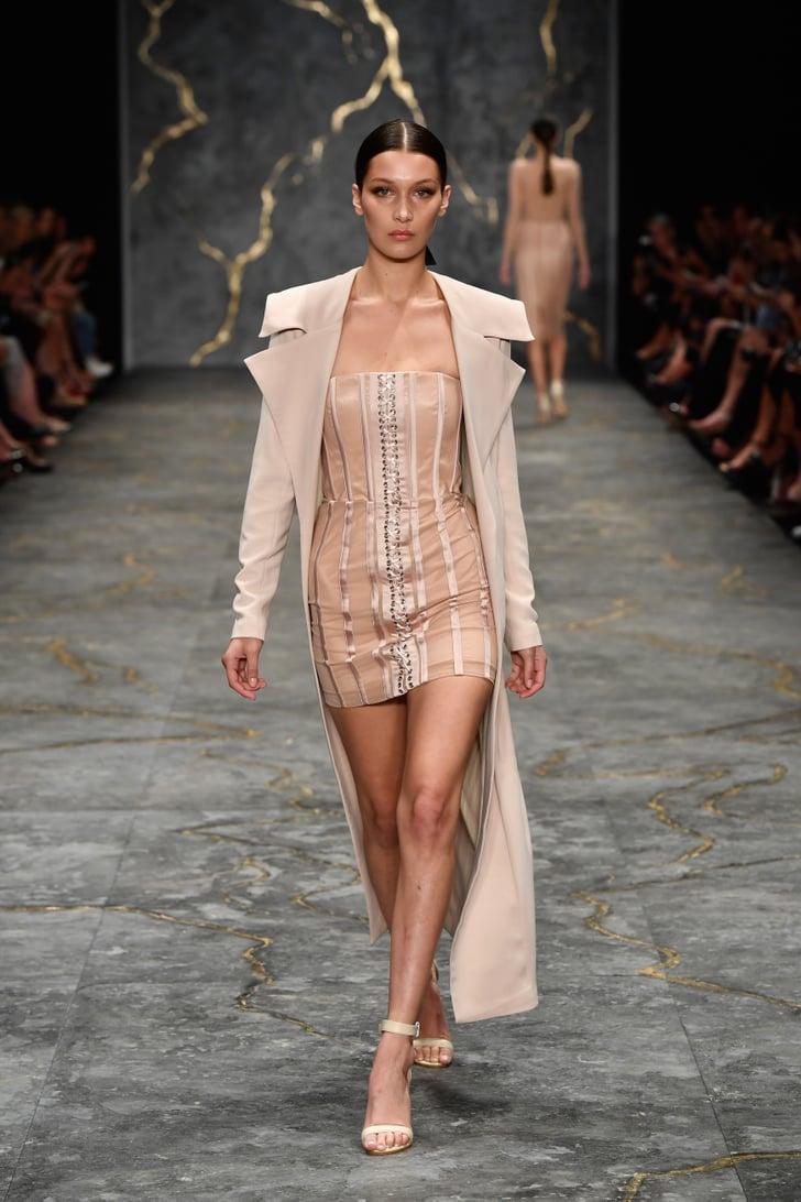 Bella Hadid Misha Collection Runway Australian Fashion